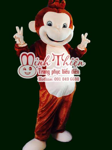 Cho Thuê Đồ Mascot Mascot Khỉ Tphcm