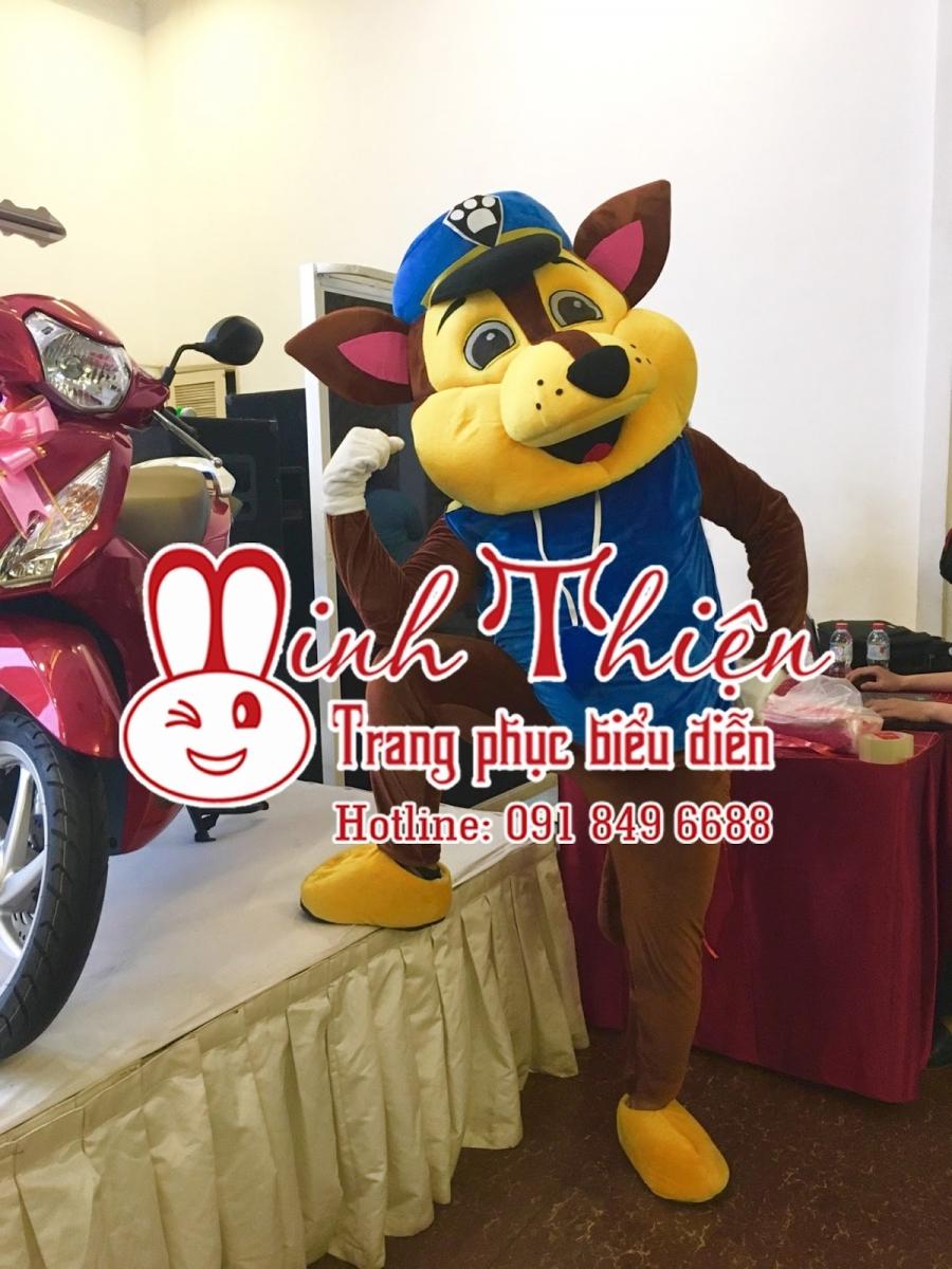 Cho Thuê Đồ Mascot Chó Cảnh Sát Tphcm