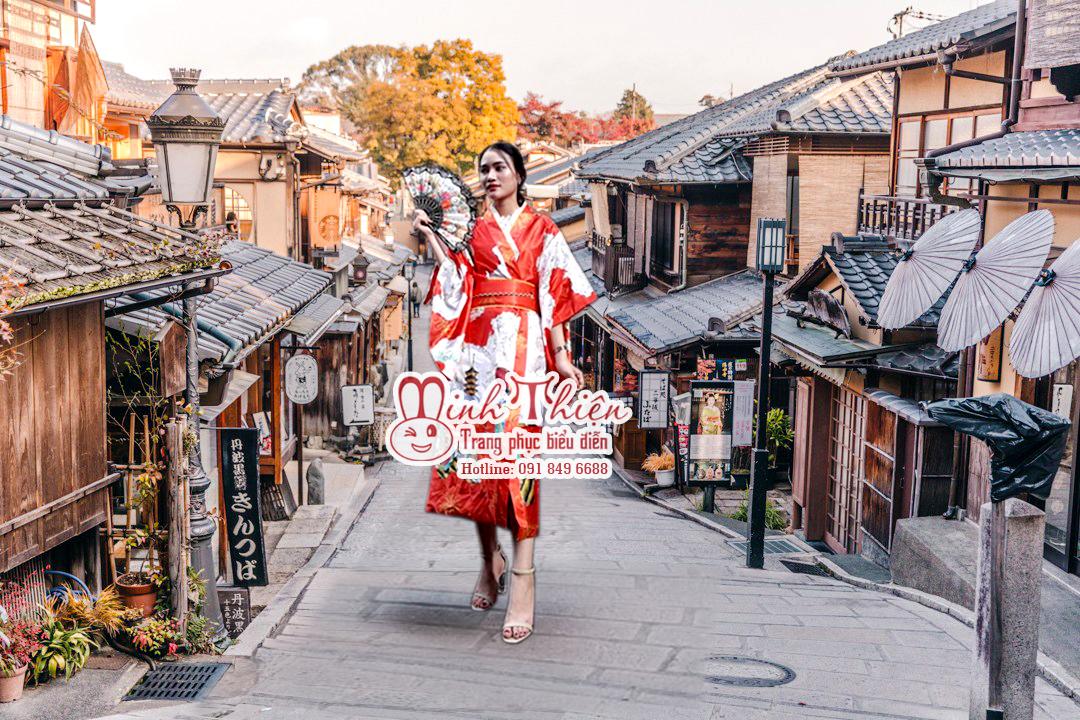 Cho thuê trang phục yukata ở tphcm