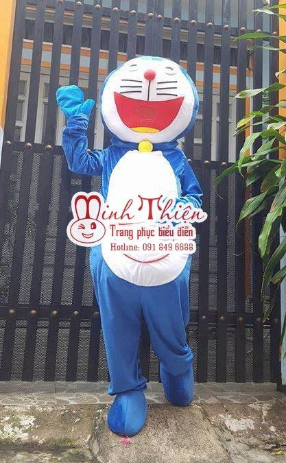 Cho Thuê Linh Vật Biểu Diễn , Mascot Doremon Tphcm