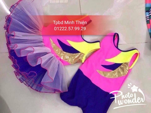 Cho Thuê Trang Phục Aerobic Trẻ Em Hcm