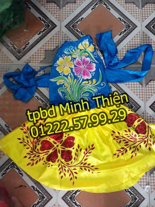 Cho Thuê Trang Phục Váy Yếm Trẻ Em Hcm