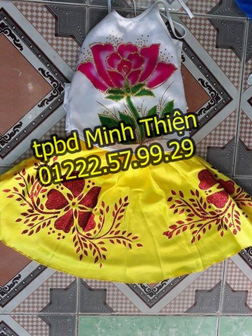 Nhận Cho Thuê Trang Phục Váy Yếm Trẻ Em