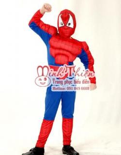 Bán Và Cho Thuê Trang Phục spider man Trẻ EmTại tphcm