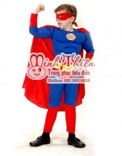 Bán Và Cho Thuê Trang Phục superman Trẻ EmTại tphcm