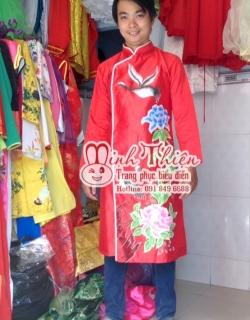 Cho thuê áo dài nam giá rẻ tại tphcm