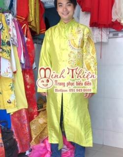 Cho thuê áo dài nam tại tphcm 03