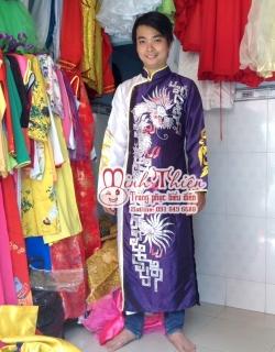 Cho thuê áo dài nam tại tphcm 04