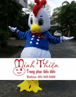 Cho Thuê Đồ Mascot Con Gà Tại Tphcm