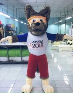 cho thuê đồ mascot mascot chó sóitphcm(linh vật world cup 2018)
