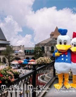 Cho Thuê Đồ Mascot Vịt Donald Tphcm