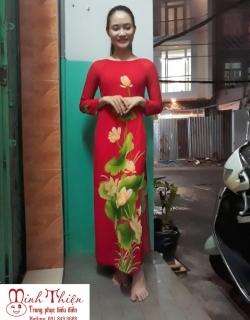 Cho Thuê Trang Phục Áo Dài Múa Sen Tại Tphcm