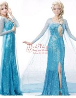 cho thuê trang phục công chúa elsa tphcm