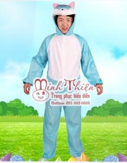 cho thuê trang phục thú hở mặt người lớn 09