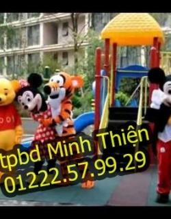 Chuyên Cho Thuê Đồ Mascot Gấu Pooh Tại Tphcm